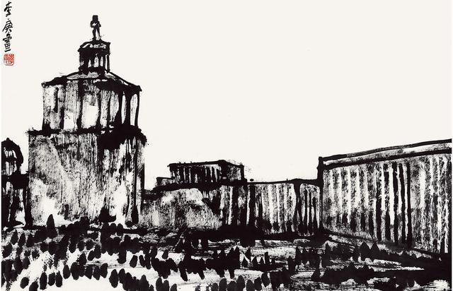 """""""欧行旅情""""在乌克兰基辅热烈绽放---李庚教授巡回画展正在进行"""