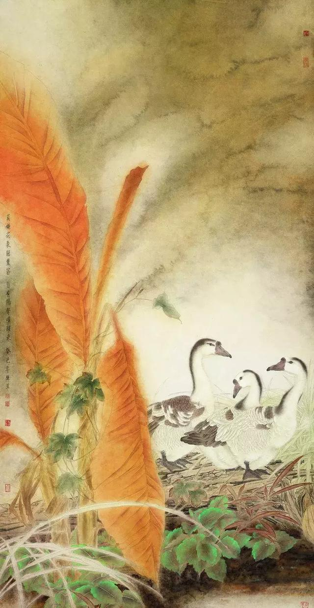 樊萍教授的40余幅工笔精品,你见过吗?
